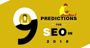 9 پیش بینی سئو سایت در سال 2018